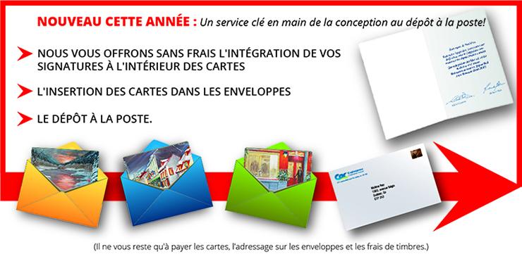 Berühmt Copiexpress : L'Imprimeur Conseil à Québec - Cartes De Noël  GW96